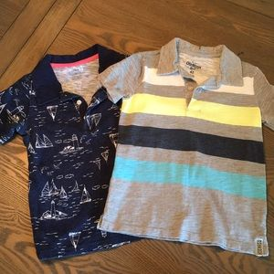 OshKosh B'gosh Shirts & Tops - Boys 4T Polo Bundle